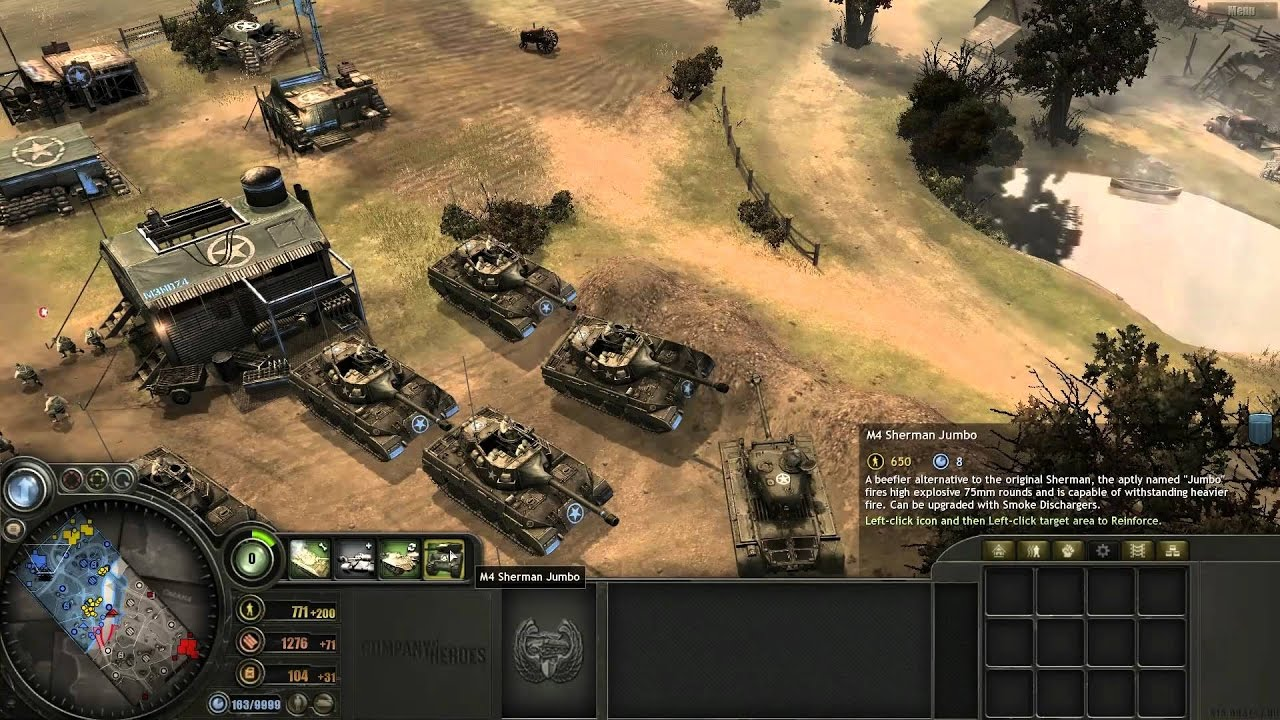 How To Get Unlimited Resource In Company Of Heroes 100 Working