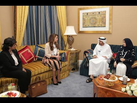 حمدان بن محمد يلتقي المتحدثين الرسميين في منتدى المرأة العالمي في دبي