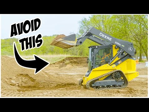 What NOT To Do In A Skid Steer | Heavy Equipment Operator Training
