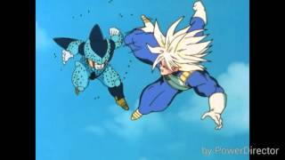 dbz z fighters vs cell jr music video