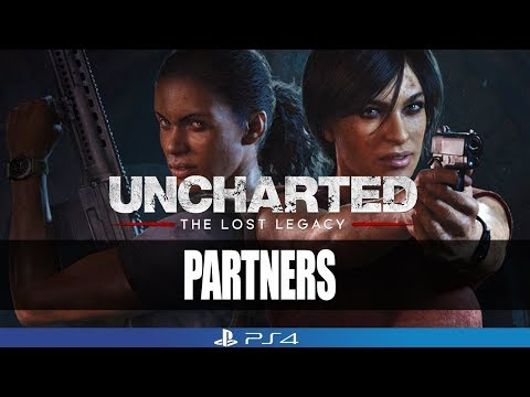 Uncharted The Lost Legacy Gameplay Walkthrough Part 10 - Partners | No Commentary