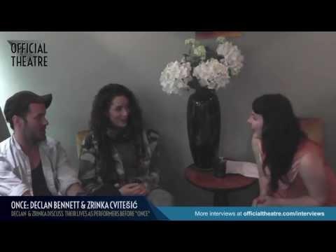Declan Bennett and Zrinka Cvitešić Interview: Life before Once the musical