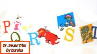 Dr. Seuss Letters Trim by Eureka  EU845019
