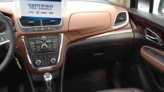 2014 Buick Encore Leather ONSTAR|HEATED STEERING WHEEL|EXPRESS OPEN SUNROOF