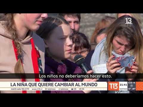 Estudiantes del mundo marchan contra el cambio climático
