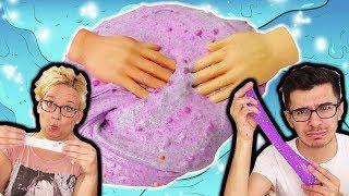 Tiny Hands Slime Challenge | Schleim DIY mit Mini Händen | Total verrückt & Lustig | Kids DIY