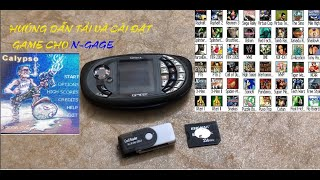 N-Gage detailed game instaĮlation instructions