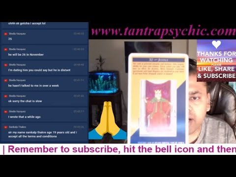 5 Live Psychic Reading Demos Given. Order Your Own Private Readings At Www.tantrapsychic.com