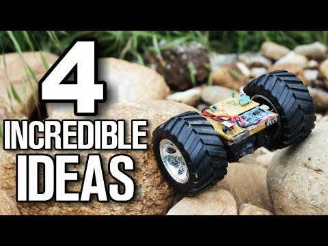Thumbnail: 4 incredible inventions - Homemade Ideas