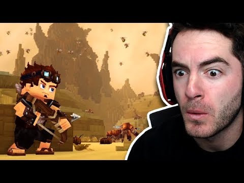 Is This Minecraft 2? (Hytale Trailer Reaction)