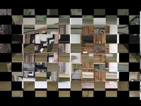 on peut faire avec des palette en bois youtube. Black Bedroom Furniture Sets. Home Design Ideas