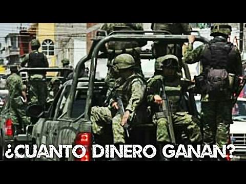 ¿Cuanto gana un militar del ejército Mexicano? 💲$$🇲🇽$$💲