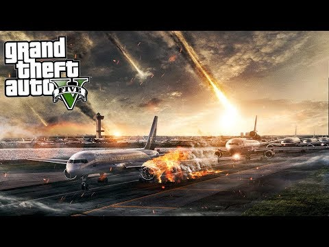 GTA 5 Mods - ENDING ALL LIFE ON EARTH! (GTA 5 Apocalypse Meteor Shower Mod)