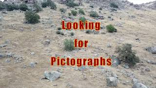 Looking for Pictographs on Picto Mtn, and also Bigfoot or an Apparition