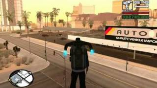 Madd Dogg (Casino Mission #8) with a pre-saved Jetpack (no cheats) - GTA San Andreas - Mission Help