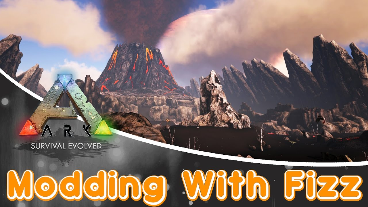 ARK: Survival Evolved MOD | The Volcano Map