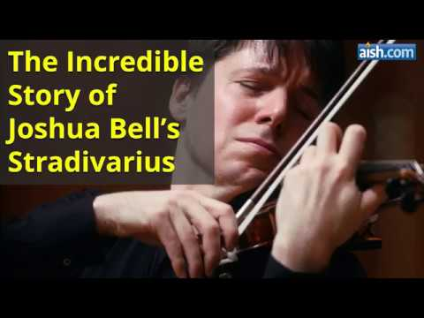 The Incredible Story Of Joshua Bell's Stradivarius