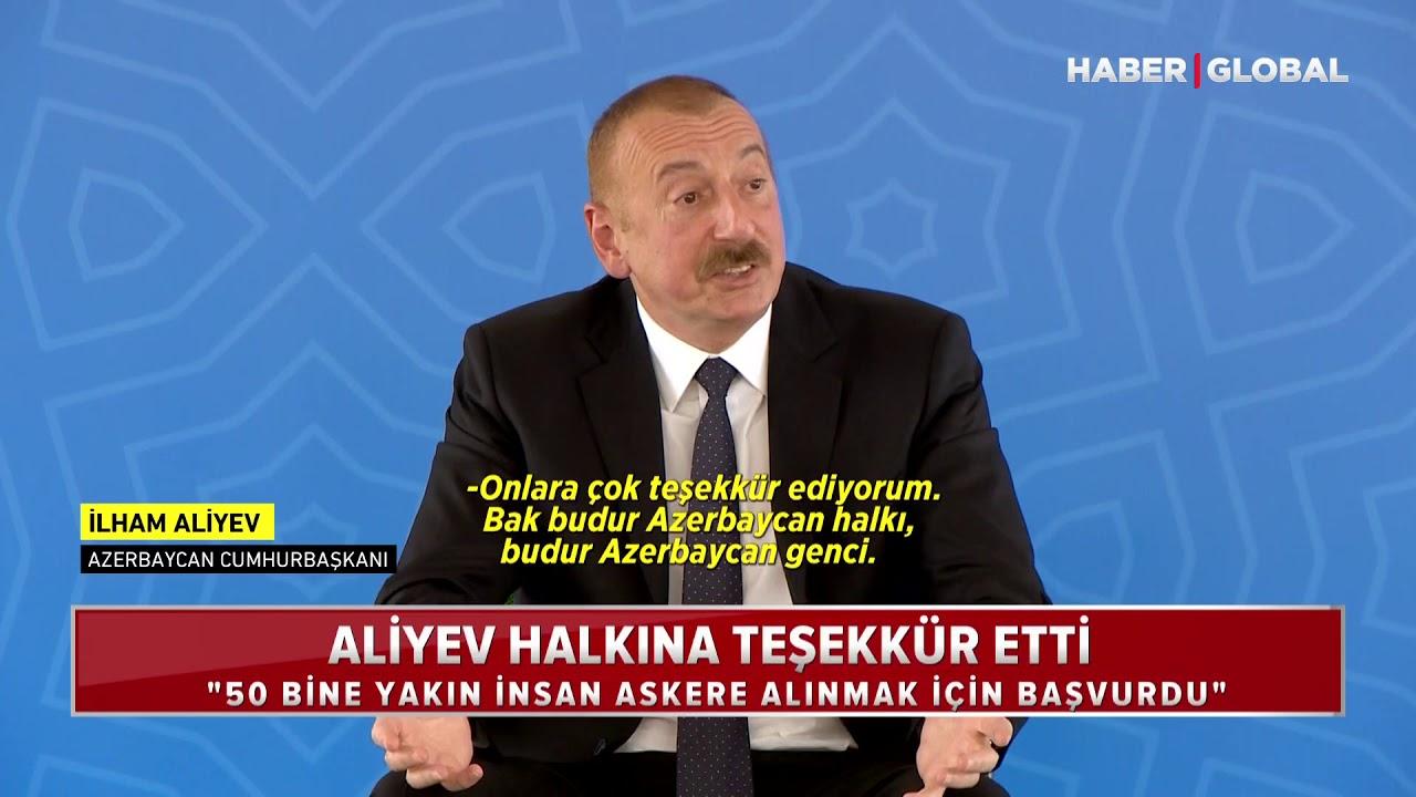 İlham Aliyev, Ermenistan'a Hodri Meydan Dedi! Hadi Gel Teke Tek Savaşalım!