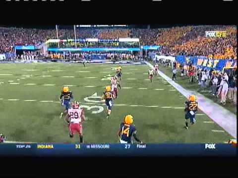 Oklahoma @ West Virginia  2014 *(with OU radio broadcast aud