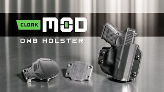 Best OWB Holster - The New Cloak Mod Paddle Holster