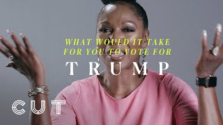 What would it take for you to vote for Trump?   Keep it 100: Black in America   Cut