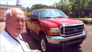 1999 Ford F250 XLT 4x4 Test Drive