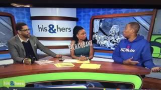 Clemson Butt Grab Soulja Boy Challenge Live on His & Hers tv Show