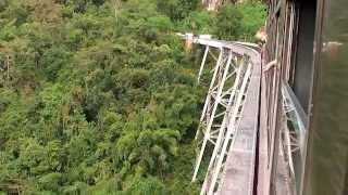 Myanmar - train ride over the Gokteik viaduct