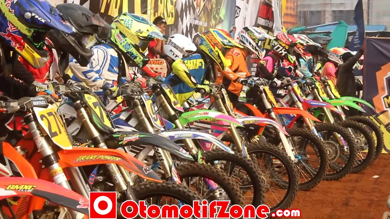 Grand Final Motocross Indonesia 2015 Full Otomotifzone Youtube