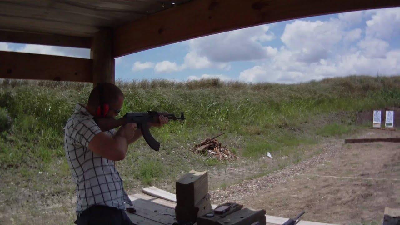 Shooting Ak47 At Lone Star Gun Range In Lockhart Youtube