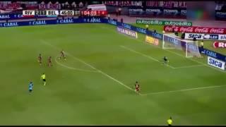 Andrade erra un gol inexplicable (River 2 belgrano 1)