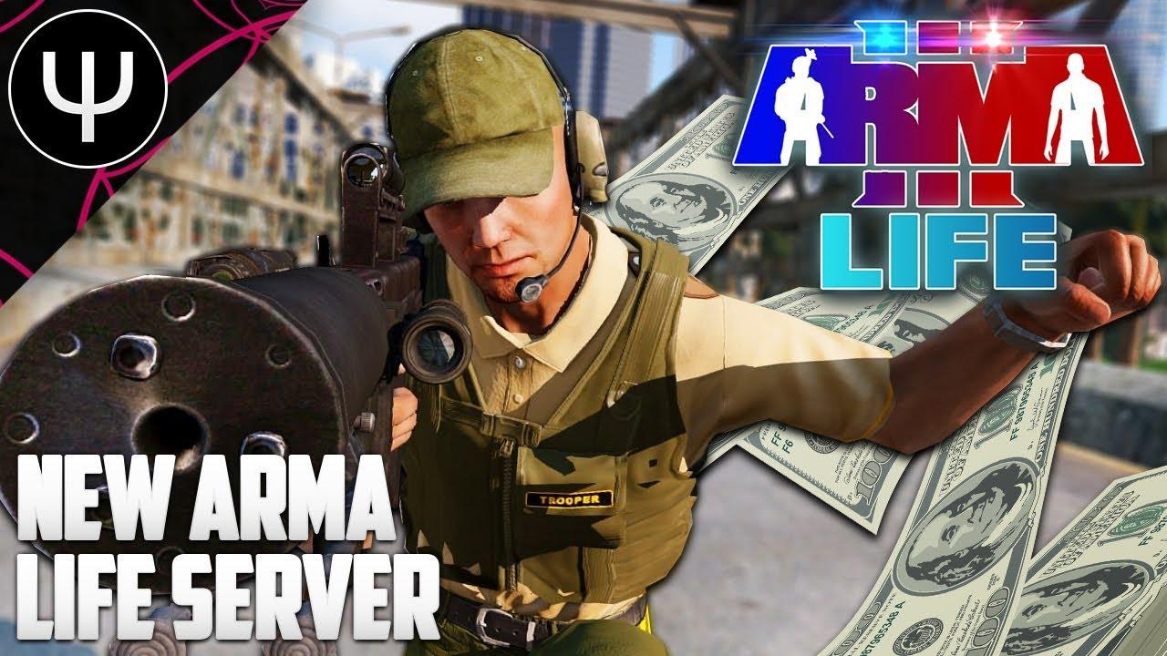 ARMA 3: Life Mod — NEW ARMA 3 Life Server!