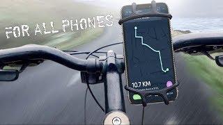 Велосипедное крепление для смартфона из Китая \ Держатель телефона на велосипед с aliexpress