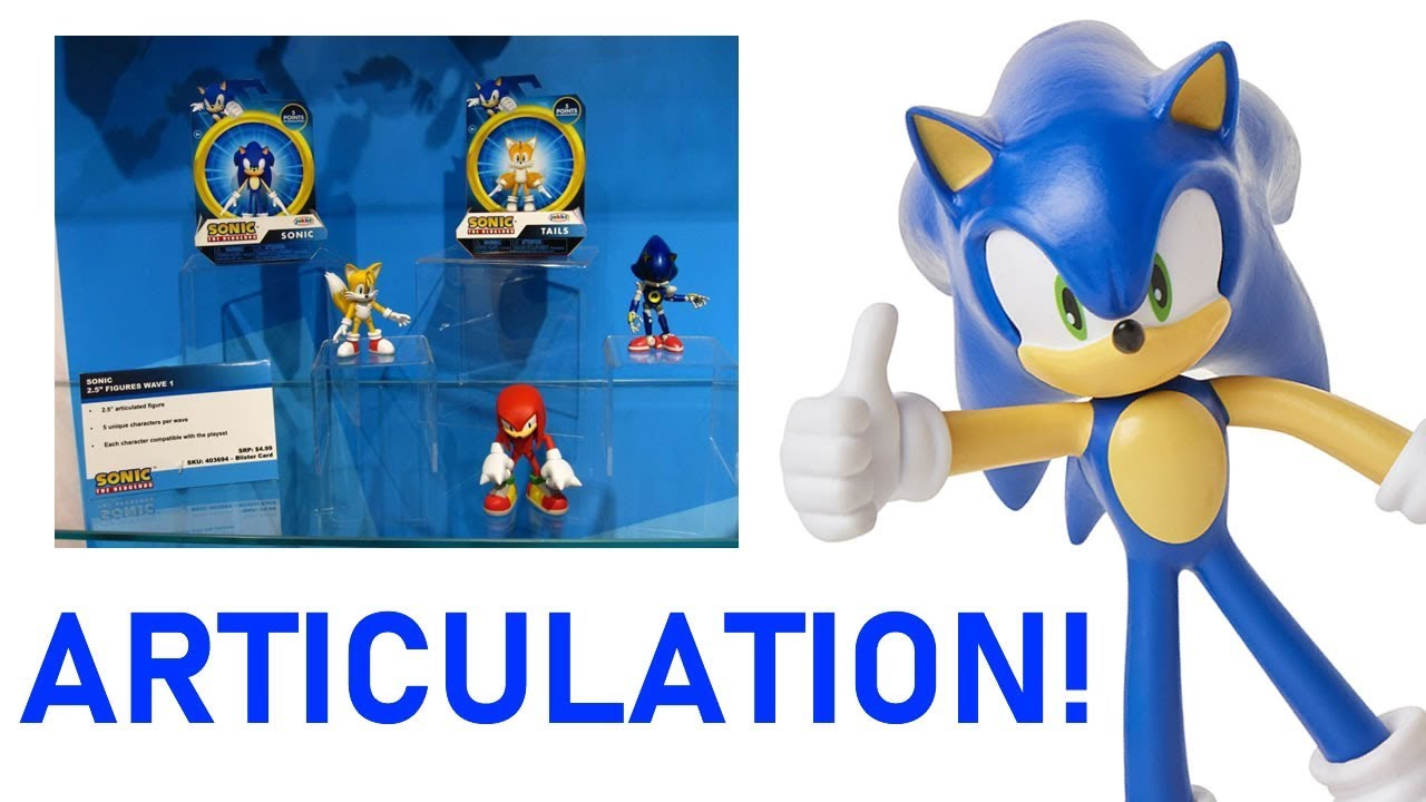 Jakks Pacific S Biggest Sonic Surprise Youtube