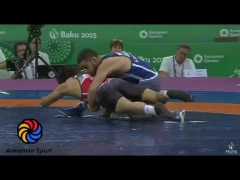 Евроигры Баку  Мигран Арутюнян ARM Vs  Хасан Алиев AZE