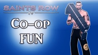 Saints Row 4 Co-op Fun Ep. 2 (Messing Around, Learning, Exploring)