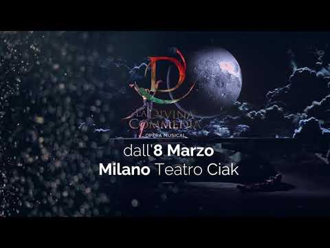 La Divina Commedia Opera Musical dall'8 marzo 2018 a Milano