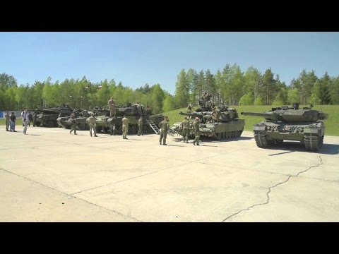 US 7th Army JMTC - Strong Europe Tank Challenge Interoperability Day [1080p]
