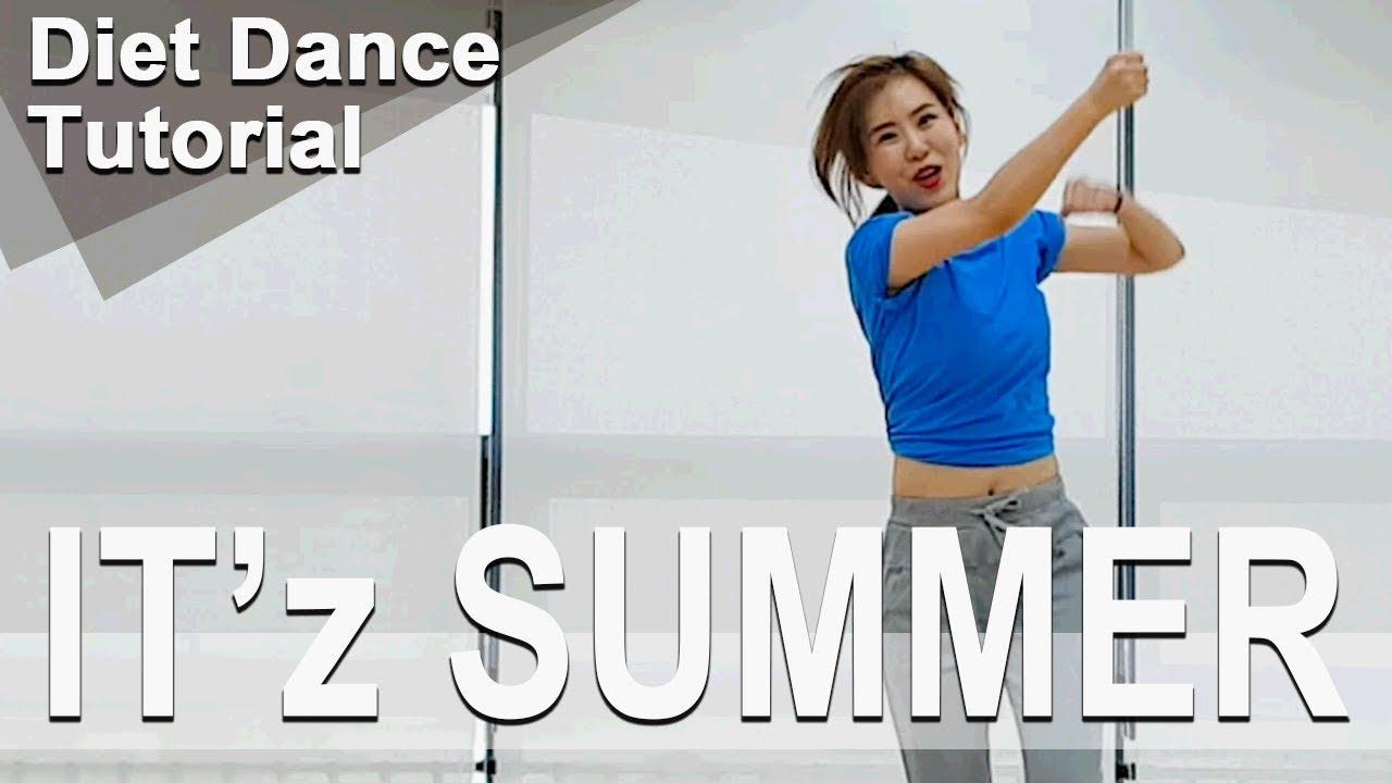 [Tutorial] IT'z SUMMER. ITZY. Dance Workout. Choreo by Sunny. SunnyFunnyFitness. Diet. 댄스다이어트.
