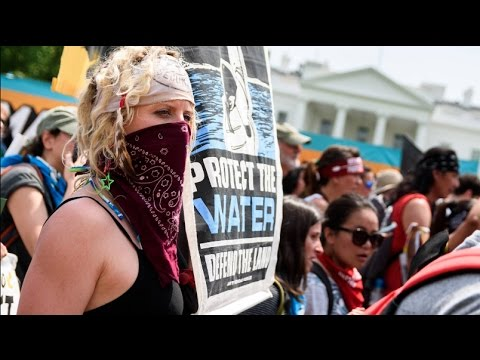 Scenes and Interviews from People's Climate March on D.C.