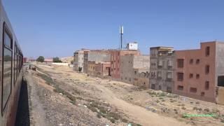 Train Ride Across the Desert of Morocco 2017 ركوب القطار عبر المغرب thumbnail