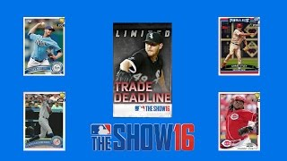 Trade Deadline Packs! New 97 Chase Utley! - MLB The Show 16 Diamond Dynasty Pack Opening