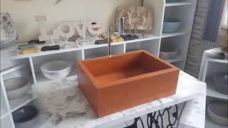 Cubas Rústicas para Banheiro e Lavatório