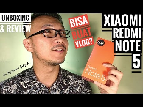 XIAOMI REDMI NOTE 5 PRO Unboxing & Review , Bisa Buat VLOG ?