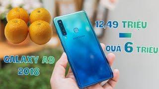 Mở hộp & đánh giá nhanh Samsung Galaxy A9 2018