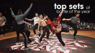 Top Sets at Battle of the Year 2015 // .stance