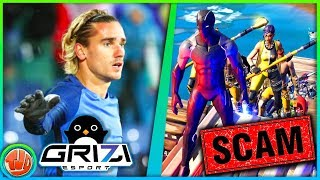 *GESCAMMED* Door Fashion Show!! Barcelona Speler 'Griezmann' x Fortnite!!