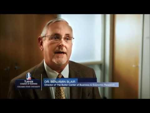 Turner College of Business - Ben Blair answers: Why Business?