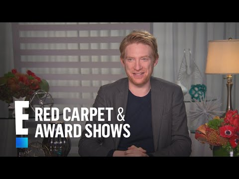 Domhnall Gleeson on Princes William & Harry Being On Set  E! Live from the Red Carpet