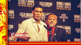 DAVID BENAVIDEZ NEEDS HIS WBC BACK FROM ANTHONY DIRRELL BEFORE ZURDO OR OTHR FIGHTS HE SAYS